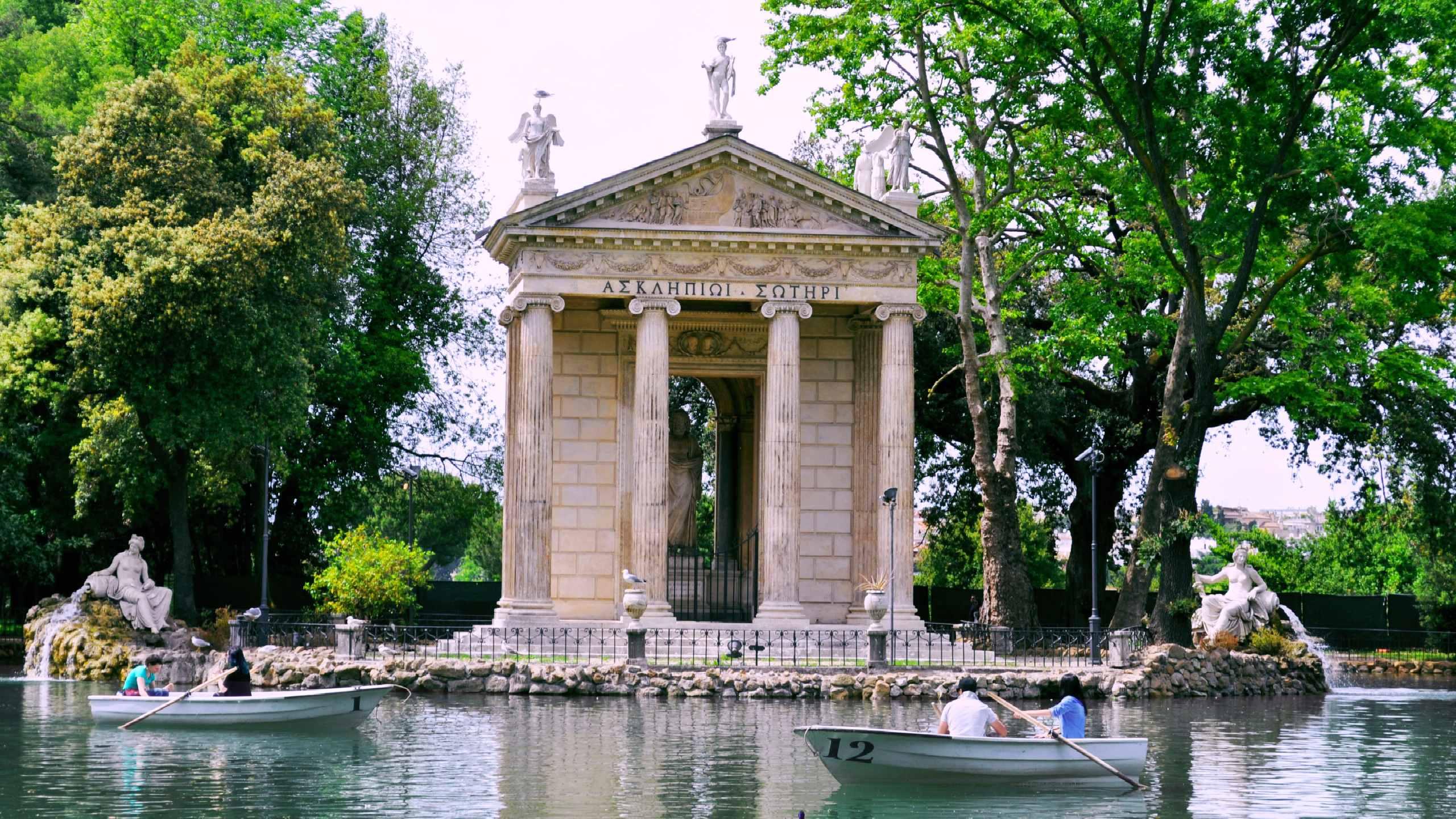 Villa Borghese barca